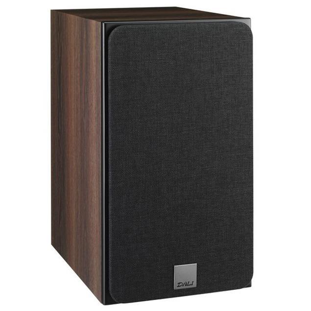 DALI Oberon 3 - 2-Way bass reflex bookshelf loudspeakers in dark walnut (1 pair)