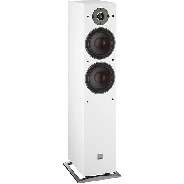 DALI Oberon 7 - 2-Way bass reflex floorstanding loudspeakers (30-180 Watts / white / 1 pair)