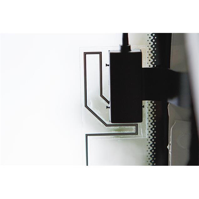 Zenec Z-EACC-DAB1 - DAB+ window mount foil antenna (black)