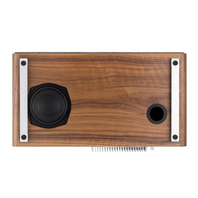 ruarkaudio R5 MKI - hi-fi music system (all-in-one sound system / 90 W / CD / LED / DAB / DAB+ / FM tuner / USB / Apt-x Bluetooth / walnut real wood veneer)