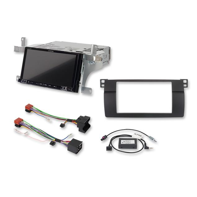 ALPINE iLX-702E46 - 7-inch mobile media system for BMW 3-series E46 (featuring Apple CarPlay and Android auto compatibility)