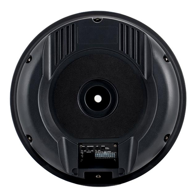 Ampire ACTIVE6-RD - active subwoofer for spare wheel well (2 x 16 cm (6.5 '') / 150 Watts RMS / 300 Watts max / class AB amplifier / incl. bass-level remote control)