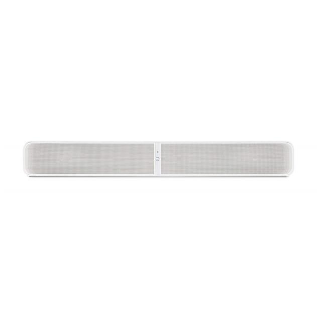 Bluesound Pulse Soundbar 2i - streaming client with built-in loudspeakers in white