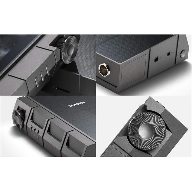 Astell & Kern KANN CUBE - mobile high definition audio player (wolf grey / 5-inch touchscreen display / quad-core / 2x DAC ESS9038 Pro (8-ch) / 128GB / 32bit/384Khz)