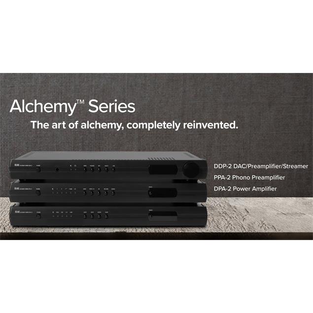 Elac Alchemy DDP-2 - DAC / preamplifier / streamer in black
