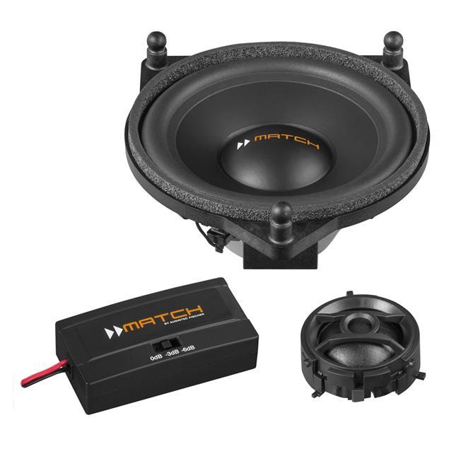 MATCH UP C42MB-FRT - loudspeaker upgrade for Mercedes