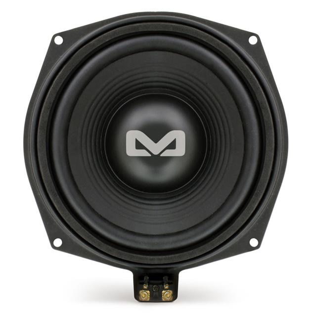 """Ampire BMW-W1 - bass loudspeakers for BMW vehicles (for underseat installation / 100 Watts RMS / 200 Watts max. / 20 cm (8"""") subwoofer / 1 pair)"""