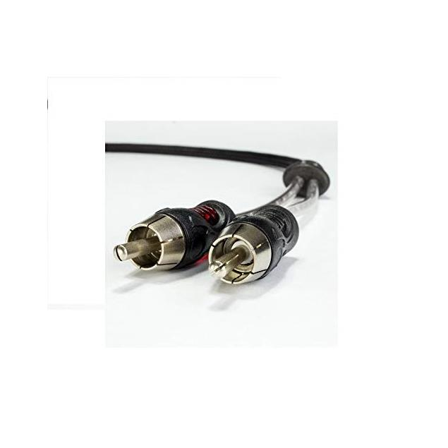 Emphaser ESP-RC1 - high-end stereo RCA cable (1.0 m / RCA to RCA / black)