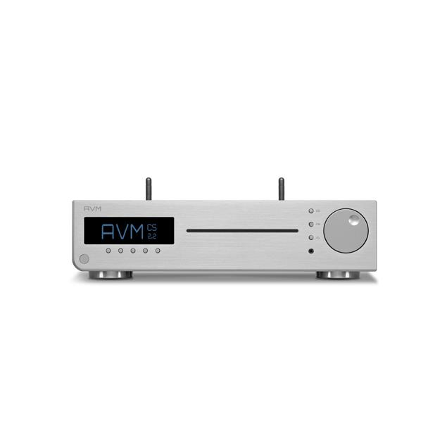 AVM INSPIRATION CS2.2 LE - all-in-one device (CD receiver / hi-fi streaming with TIDAL, Qobuz, UPnP, WebradioStreaming / Bluetooth 4.2 / FM tuner / DAC / 2x 150 W / silver)
