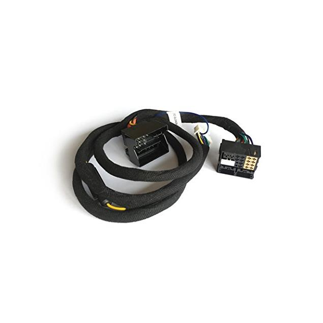 Axton N-A480DSP-ISO33 - connection cable (car-specific adapter cable / for VW Golf 7 + Audi A3/Q3 + Skoda Octavia / Quadlock 3 connection / approx. 1.5 m / plug & play)