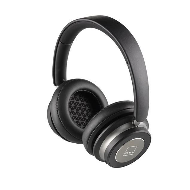 Dali IO-4 - premium Bluetooth headphones (incl. various cables / incl. string bag / black = Iron Black)