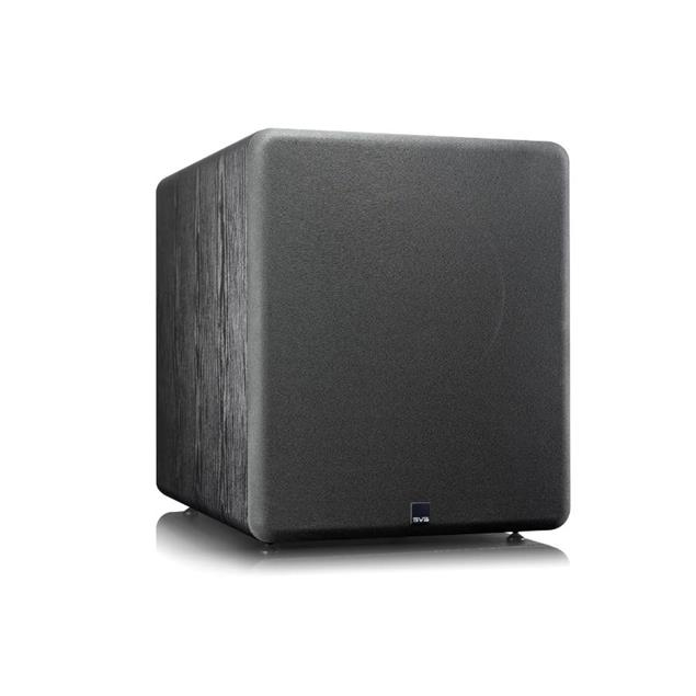 SVS PB-2000 Pro - Active subwoofer (550 Watts RMS continuous power / 1500 Watts maximum peak / front firing 12 inch driver / matt black ash)
