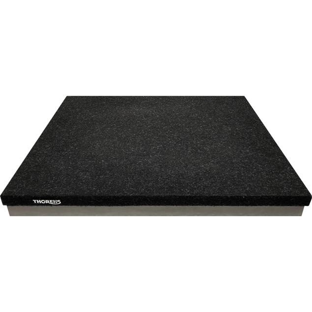 THORENS Absorber Base TAB 1600 - absorber platform for turntables (MDF anti-vibration base plate / three-layer / is used for highly effective decoupling)