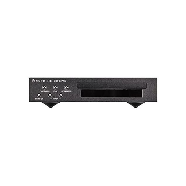 NuPrime CDT-8 - CD player with single-speed CD drive (supports CD-DA + CD-R + CD-RW / black)