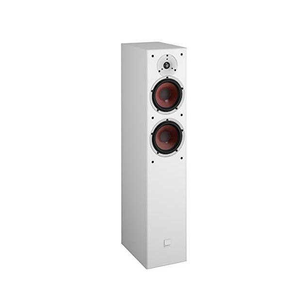 DALI Spektor 6 - 2-Way bass reflex floorstanding loudspeakers (30-150 Watts / white / 1 pair)
