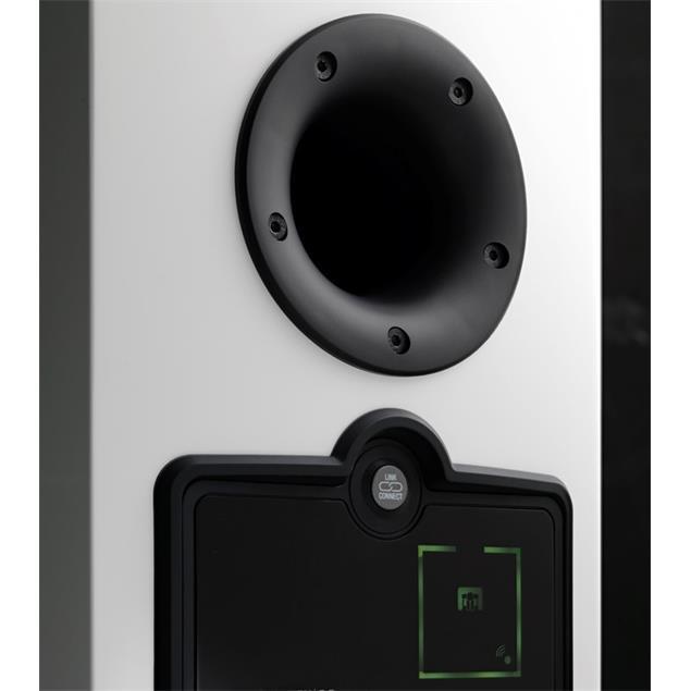 DALI Rubicon 6 C - 2,5-Way bass reflex floorstanding loudspeaker (250 W RMS = max. amplififier power output / high-gloss white / 1 piece)