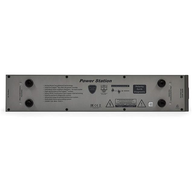iFi-Audio Power Station - 6-way power strip socket system