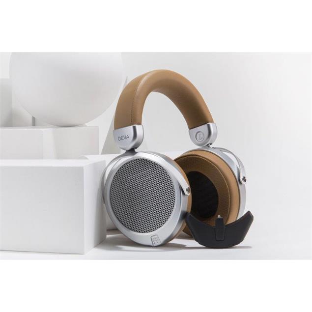 HiFiMAN DEVA - magnetostatic headphones (Over-Ear) with extra Bluetooth / USB / battery module (Bluemini)