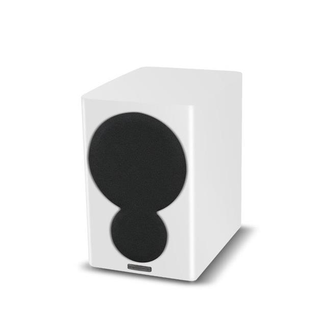 Mission QX-1 - 2-way bass reflex bookshelf loudspeakers high-gloss white (1 pair)