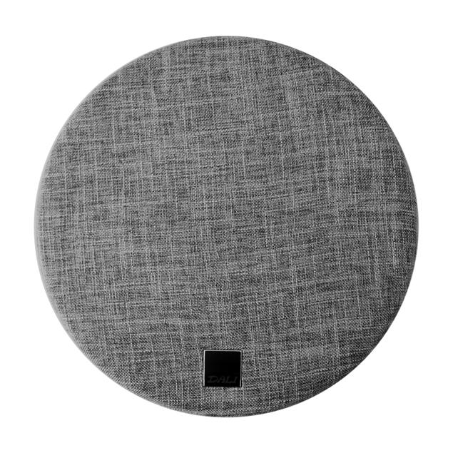 """DALI SUB E-12 F - subwoofer front cover (""""mountain grey"""" = grey / round / 1 piece)"""