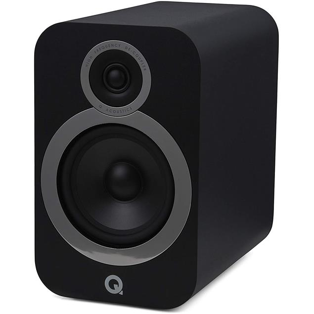 Q Acoustics 3030i - QA3536 - bookshelf loudspeakers (black / 1 pair)