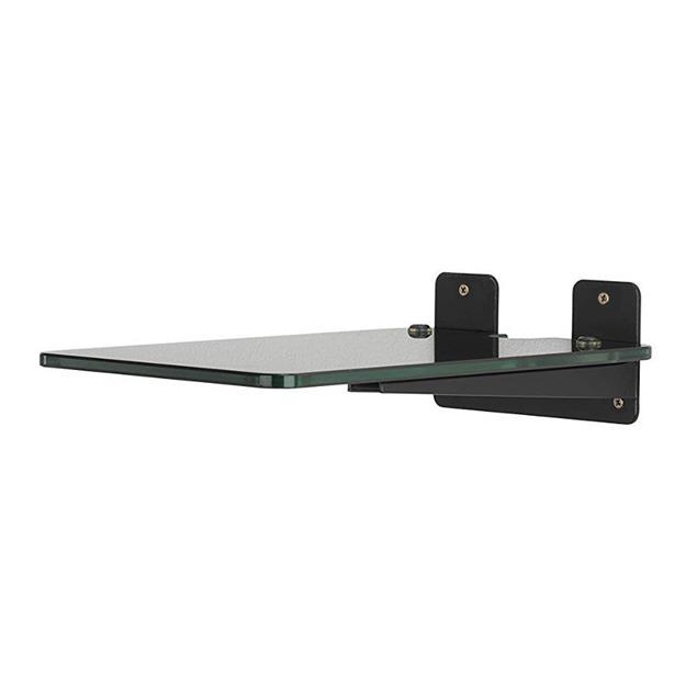 Q Acoustics QA2140 - glass wall bracket (for various bookshelf speakers / transparent glass / 1 pair)