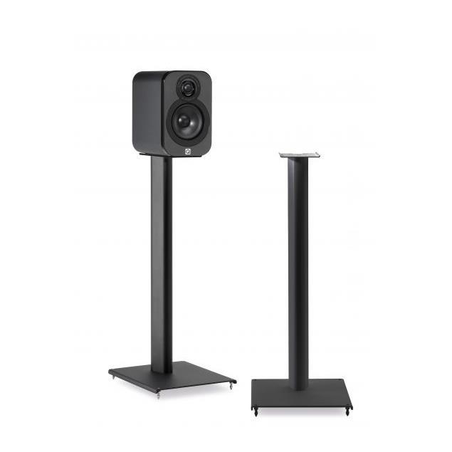 Q Acoustics Q3000 - QA3102 - loudspeaker stands (suitable for Q Acoustics 3010i + 3020i + also other various bookshelf loudspeakers / black / 1 pair)