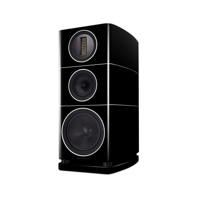 Wharfedale ELYSIAN 2 - 3-way bass reflex compact loudspeakers (pedestal speakers in black piano lacquer finish / attention = only loudspeakers without stands / 1 pair)