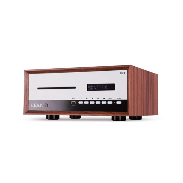 Leak CDT - CD player (fully digital device in classic walnut housing / incl. USB interface / precise audio clock for minimal jitter)