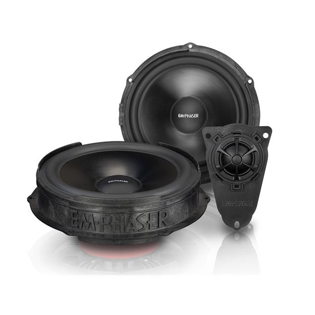 Emphaser EM-VWF1 - plug & play 2-way loudspeaker component system for VW T5 (20 cm / ~8 inch / 60 Watts RMS / 1 pair)