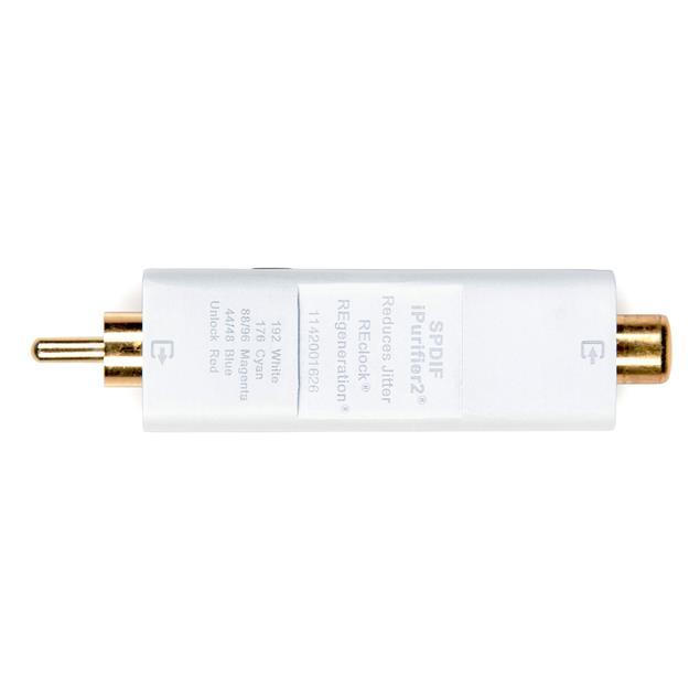 iFi-Audio SPDIF iPurifier2 - digital filter for S/P-DIF signals (digital optical/Toslink / coaxial audio signal optimizer / cleaner / conditioner)