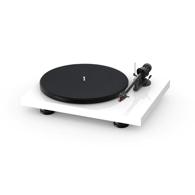 Pro-Ject Debut Carbon EVO - record player in high gloss white