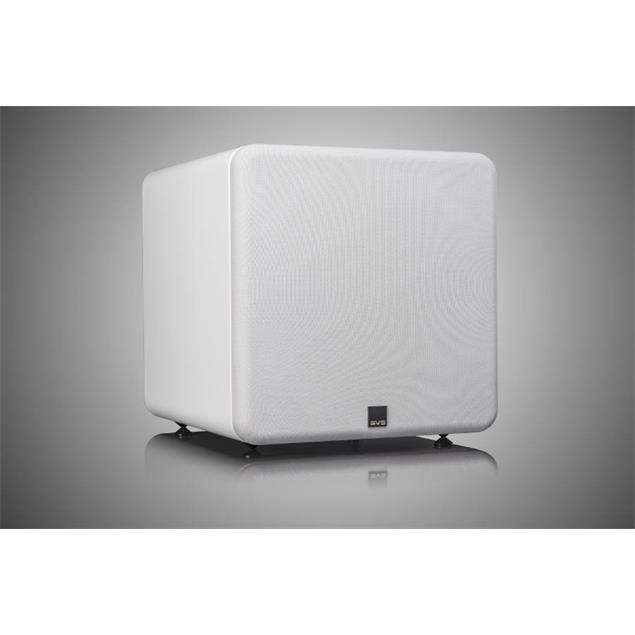 SVS SB-2000 Pro - active subwoofer (550 Watts RMS continuous power / 1500 Watts maximum peak / front firing 12 inch driver / DSP / piano gloss white)