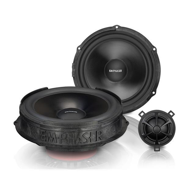 Emphaser EM-VWF2 - loudspeaker component system for front door speakers for VW T6 (20 cm / 80 W RMS / upgrade loudspeaker set for front doors at Volkswagen T6)