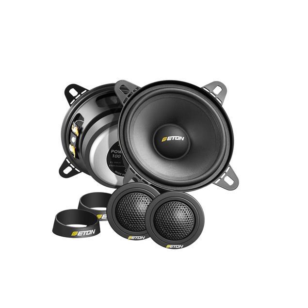 Eton POW 100.2 Compression - 2-way loudspeakers (40 Watts RMS / black / 1 pair)