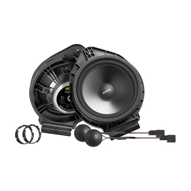 Eton UG Opel F2.2 - 2-way loudspeaker system for Opel vehicles (16.5 cm / front-mounted / 50/80 Watts RMS/MAX / 1 pair)