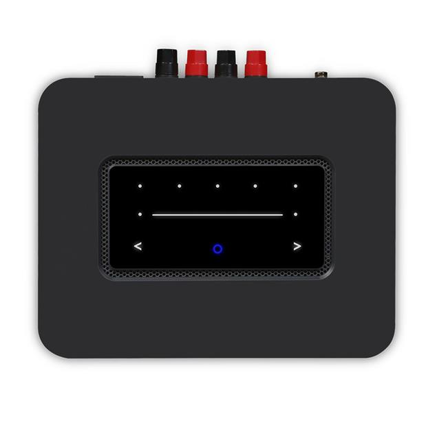 Bluesound Powernode N330 - streaming integrated amplifier (for multiroom audio / wireless / 2x 80 Watts / BT 5.0 aptX HD / MQA / incl. D/A converter / black)
