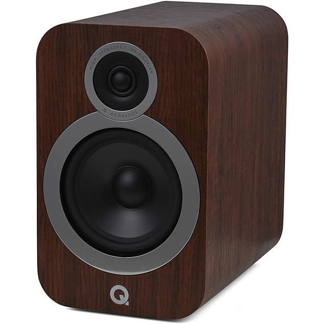 Q Acoustics 3030i - QA3532 - 2-way bass reflex bookshelf loudspeakers (English Walnut / 1 pair)