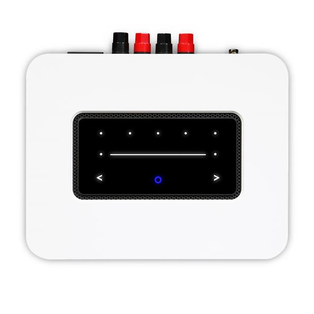 Bluesound Powernode N330 - streaming integrated amplifier (for multiroom audio / wireless / 2x 80 Watts / BT 5.0 aptX HD / MQA / incl. D/A converter / white)